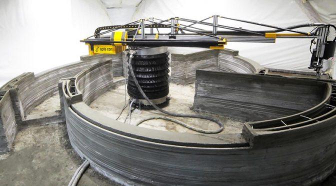 Ταχύτερη κατασκευή κτηρίων μεσώ 3D printer